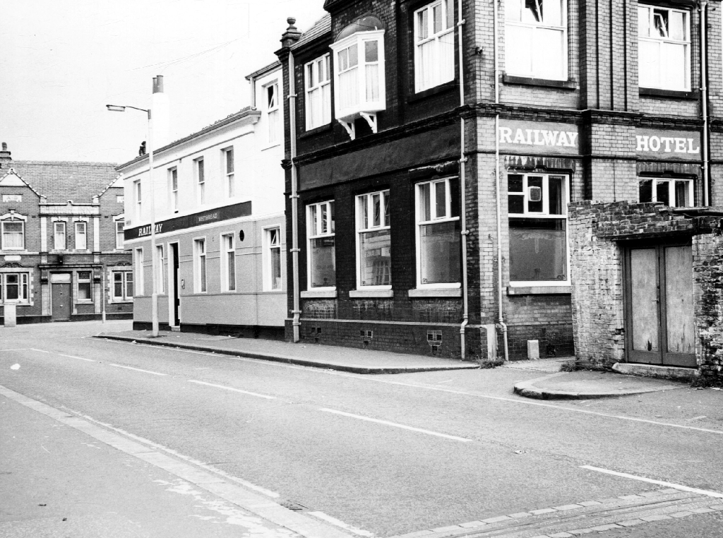 Manchester Photo Archive - Railway, Albert Road